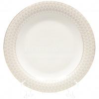 Тарелка обеденная фарфоровая, 270 мм, Golden Queen