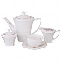 Сервиз чайный из керамики, 15 предметов, Диаманд