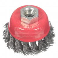 Щетка для УШМ чашка Bartex М14 99765,