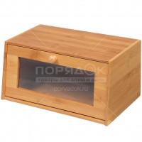 Хлебница деревянная одинарная КТ ХБ 03, 38.5х22х19