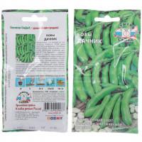 Семена Бобы Дачник в цветной упаковке Седек