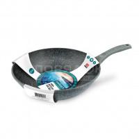 Сковорода вок с мраморным покрытием Нева Металл