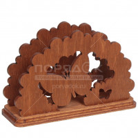 Салфетница деревянная Бабочка Б 3