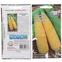 Семена Кукуруза сахарная Лакомка сахарная в цветной