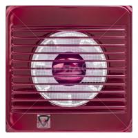 Вентилятор вытяжной Event 100С без выключателя вишневый,
