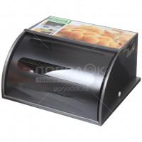 Хлебница пластмассовая Berossi Mulin ИК 23760000 серебро/прозрачный,