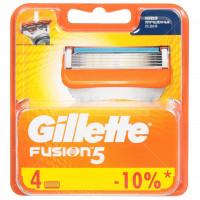 Сменные кассеты для бритья Gillette Fusion,