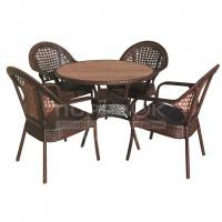 Мебель садовая Аликанте 2 (стол 100х75