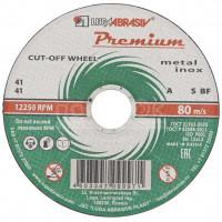 Круг отрезной по металлу LugaAbrasiv Premium А36,