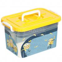 Ящик для игрушек Полимербыт Миньоны С80965