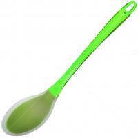 Ложка поварская Daniks НG07 50G силиконовая зеленая