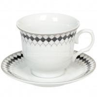 Сервиз чайный из керамики, 12 предметов, Соната