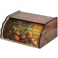 Хлебница деревянная ХЛ 2, 38.5х28.5х17.5 см