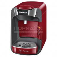 Кофеварка капсульная Bosch TAS 3203 красная,