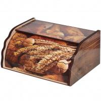Хлебница деревянная ХЛ 1, 38.5х28.5х17.5 см