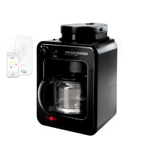 Умная кофеварка со встроенной кофемолкой REDMOND M1505S