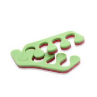 Разделители для пальцев, розовый/салатовый, 20 пар (Чистовье)