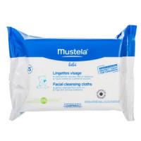 Салфетки очищающие для лица, 25 шт. (Mustela)
