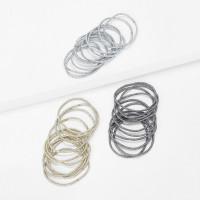 Комплект блестящих шнурков для волос 30 шт