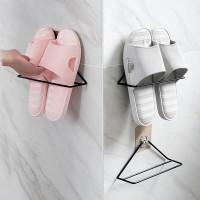 Настенный железный стеллаж для обуви 1шт