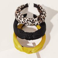 Обруч для волос с леопардовым узором 3шт