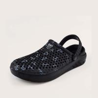 Мужские полые сандалии с открытой пяткой