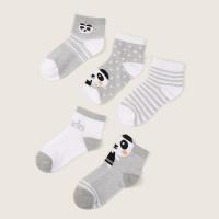 Полосатые и мультипликационные носки для малышей