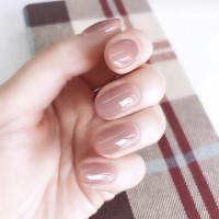 24шт однотонные накладные ногти и 1шт двухсторонняя