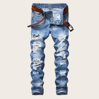 Мужские приталенные джинсы