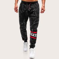Мужские спортивные брюки с принтом