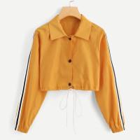 Желтый на кулиске Видспорта Жакеты + Куртки