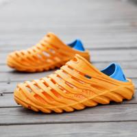 Мужские сандалии без шнурки
