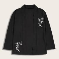 Мужское кимоно с вышивкой коронки