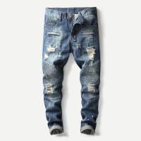 Мужские рванные джинсы