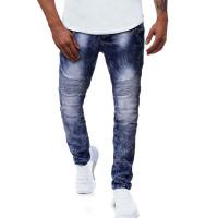 Мужские джинсы с молнией