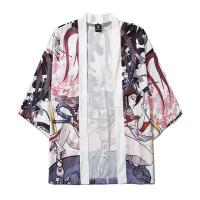 Мужское кимоно с графическим принтом