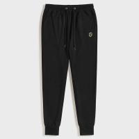 Мужские спортивные брюки на кулиске с геометрической