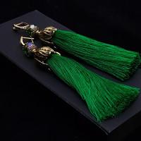 Серьги кисти Wizard Brush   Emerald