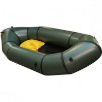 Лодка Тритон Пакрафт 230 Зеленая