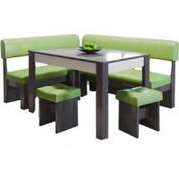 Кухонный уголок Это мебель Валенсия венге/фисташка