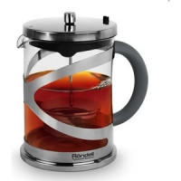 Заварочный чайник 1 л Rondell Crystal Grey