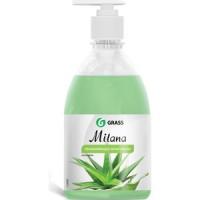 Жидкое крем мыло GRASS ''Milana'' алоэ вера,