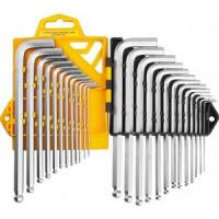Набор ключей имбусовых JCB длинные с шариком