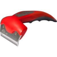 Фурминатор FoOLee One Medium 6,5см красный