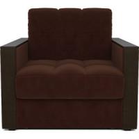 Кресло кровать Mebel Ars Техас коричневый ППУ