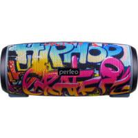 Bluetooth колонка Perfeo HIP HOP FM граффити