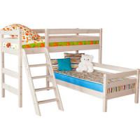 Детская угловая кровать Мебельград Соня с наклонной