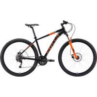 Велосипед Stark Router 29.4 HD (2019) чёрный/оранжевый/серый