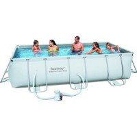 Каркасный бассейн Bestway 56441 прямоугольный 404х201х100 см