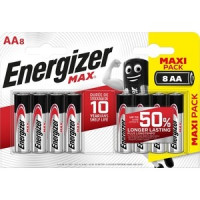 Батарейка ENERGIZER (8шт) MAX AA/ BP8